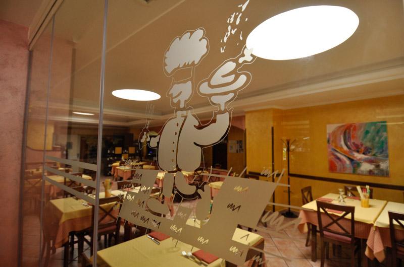 Sala interna Trattoria da Gino Ristorante Fiuggi Terme Frosinone