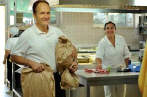 Lo staff della Trattoria da Gino Ristorante Fiuggi Terme Frosinone