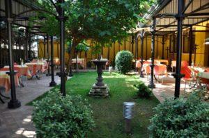 Sala esterna Trattoria da Gino Ristorante Fiuggi Terme Frosinone