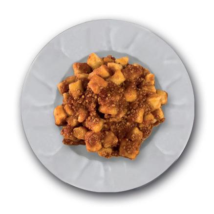 Gnocchi di patate al sugo di pecora
