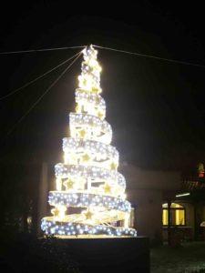 Albero Luci Natale Gino