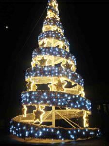 Albero di Natale Fiuggi Gino