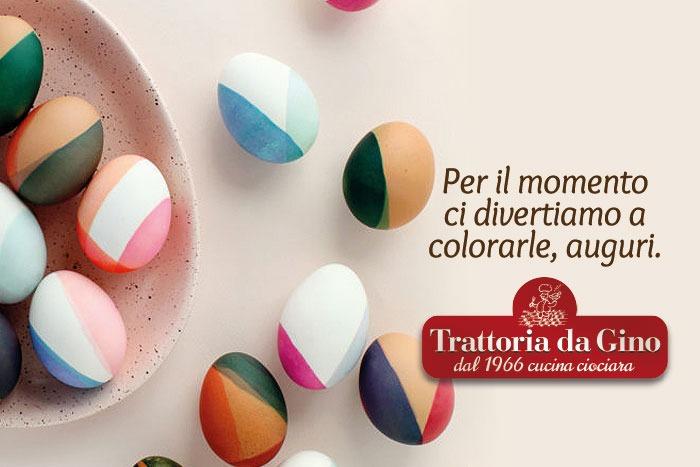 Pasqua 2020 Trattoria Da Gino Fiuggi